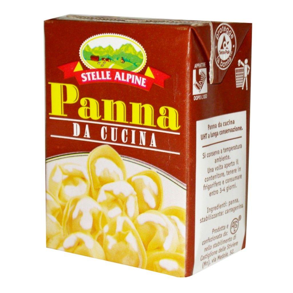 Panna da cucina stella alpina 200ml sterilgarda d ambros ipermercato - Panna da cucina ...