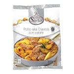Pollo alla diavola con patate 500g Sartor