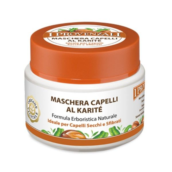 Maschera capelli al karitè formula erboristica naturale 200ml I Provenzali