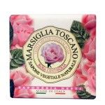 Sapone Marsiglia Toscano vegetale naturale Rosa Centifolia 200g Nesti Dante