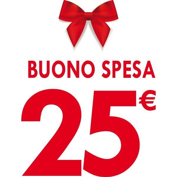 Buono Spesa Regalo da € 25