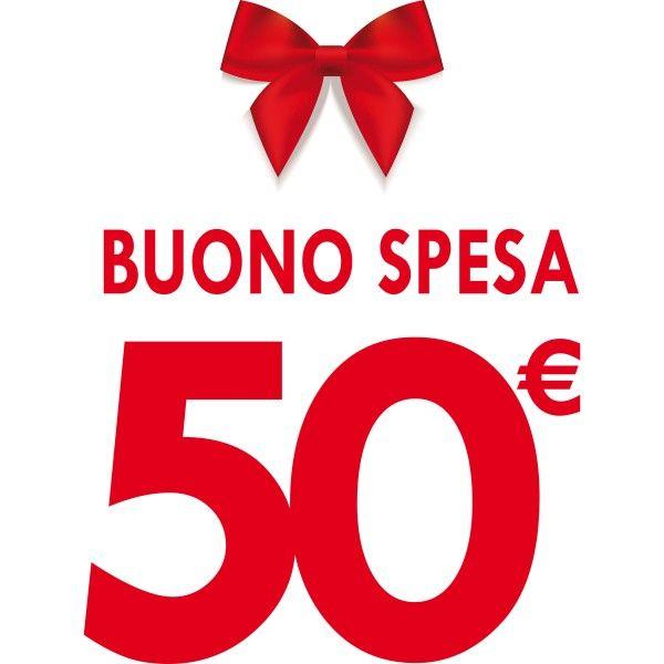 Buono Spesa Regalo da € 50