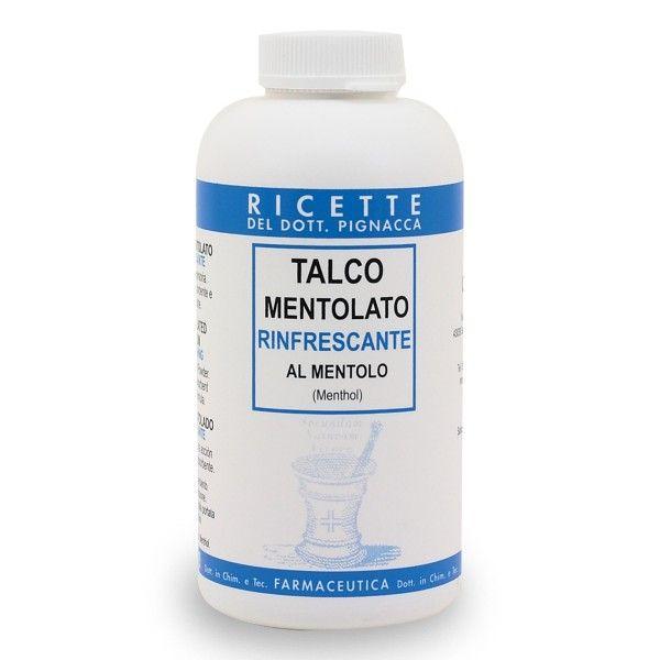 Talco Mentolato rinfrescante al mentolo 150g Ricette del Dott. Pignacca