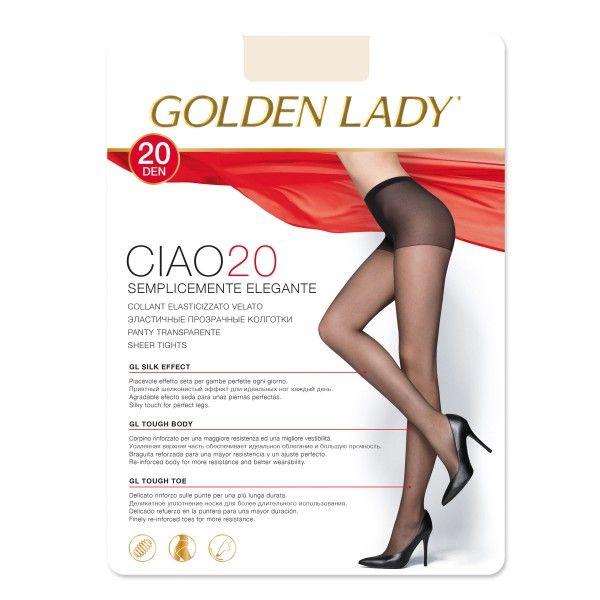 Collant Ciao 20 denari cipria tg3 Golden Lady