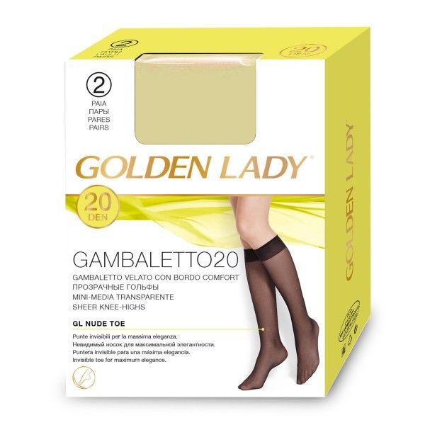 Gambaletto 20 denari cipria tg unica Golden Lady