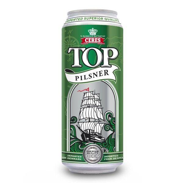 Birra Ceres Top pilsner 50cl lattina