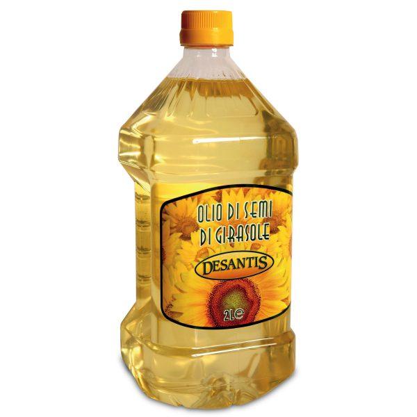 Olio di semi di girasole pet 2L Desantis