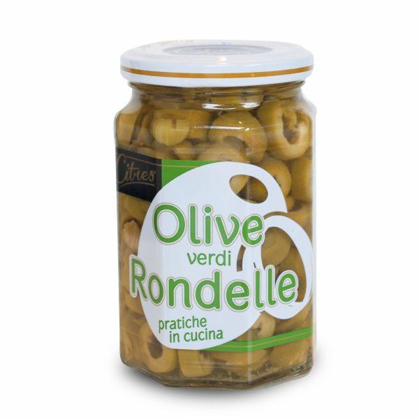 Olive verdi rondelle in salamoia 290g Citres