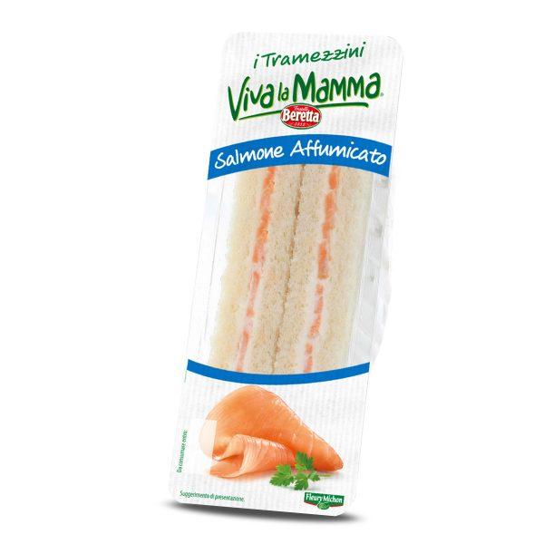 Tramezzino al Salmone Affumicato 140g Viva La Mamma