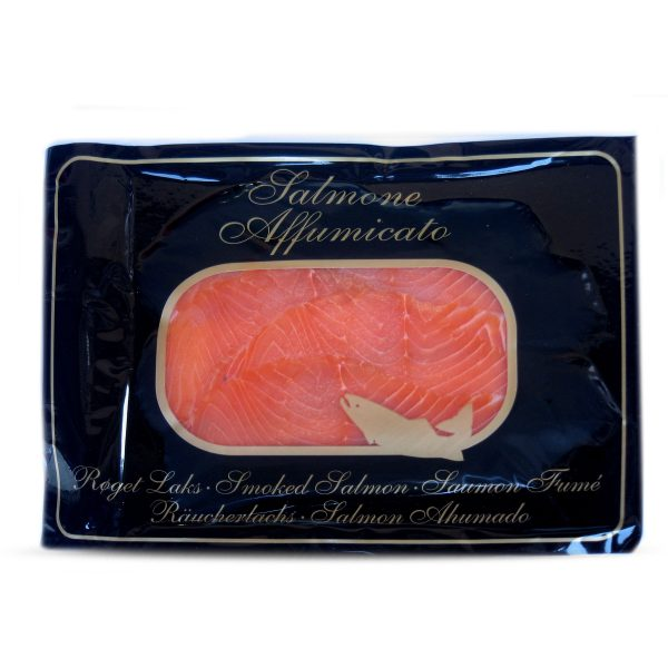 Salmone affumicato norvegese in busta 100g