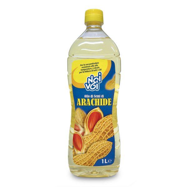 Olio di semi di arachide pet 1L Noi&Voi
