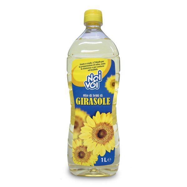 Olio di semi di girasole pet 1L Noi&Voi