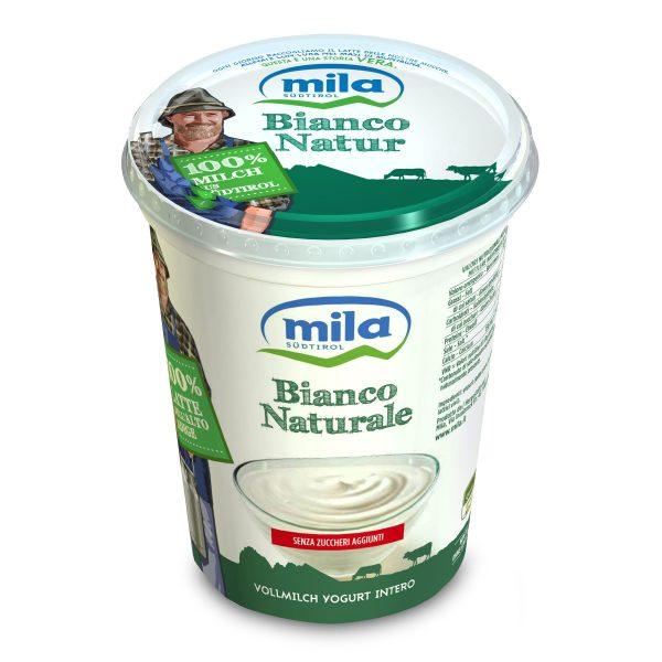 Yogurt intero bianco naturale 400g Mila