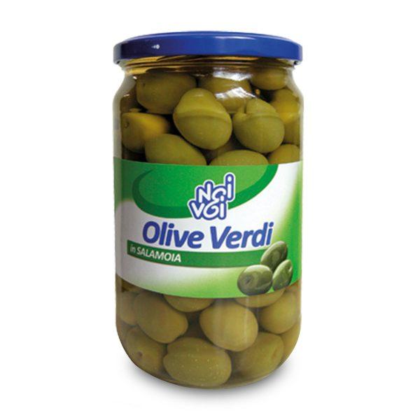 Olive in salamoia 565g Noi&Voi