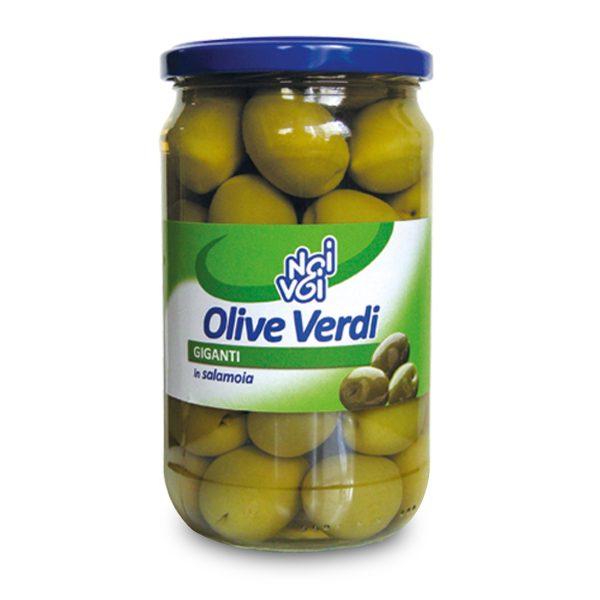 Olive verdi giganti 565g Noi&Voi