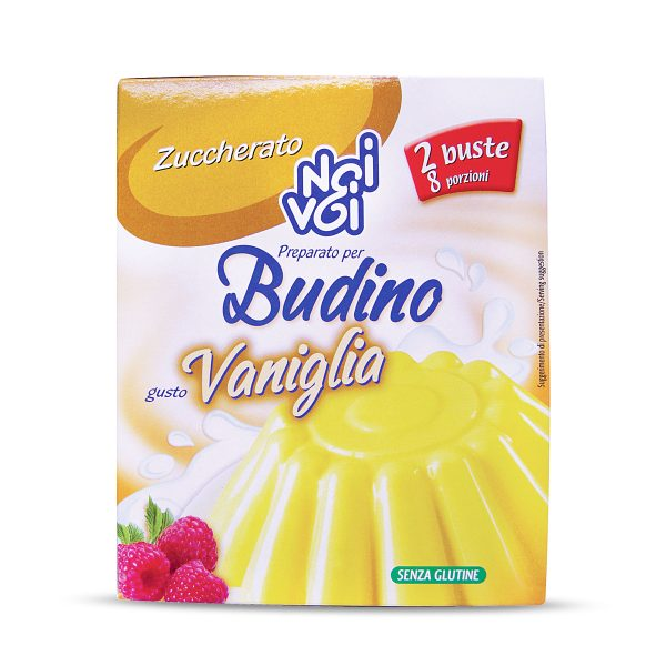 Preparato per budino alla vaniglia 140g Noi&Voi