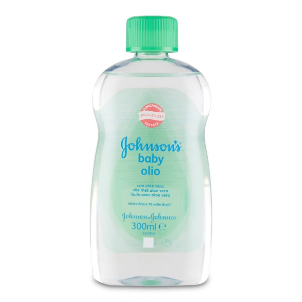 Olio corpo con aloe 300ml Johnson baby