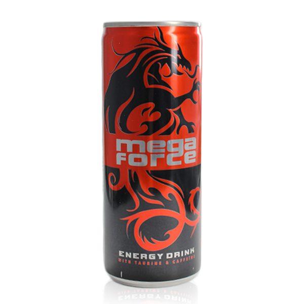 Energy drink megaforce 250ml Lattina