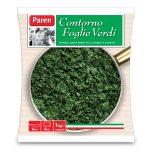 Contorno Foglie Verdi-spinaci,bieta erbetta e cicoria a cubetti 1Kg Paren