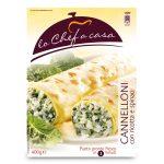 Cannelloni con ricotta e spinaci 400g Lo Chef a Casa