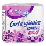 Carta igienica Compact 4 rotoli 2 veli Noi&Voi
