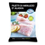 Filetti di Merluzzo D'Alaska 500g Oggi Pesce