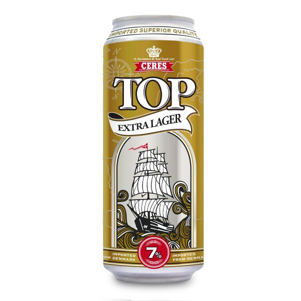Birra Ceres Top extra large 7% 50cl lattina