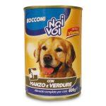 Bocconcini manzo e verdure per cane 400g Noi & Voi