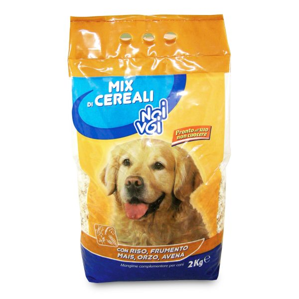Croccantini mix cereali per cane 2Kg Noi&Voi