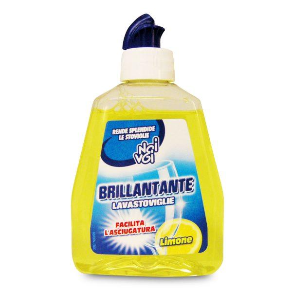 Brillantante per lavastoviglie al profumo di limone 250ml Noi&Voi