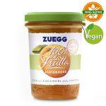 Confettura 100% Da Frutta Albicocche 250g Zuegg vegano e senza glutine