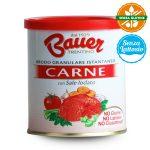 Brodo granulare istantaneo di carne senza glutine 200g Bauer e senza lattosio