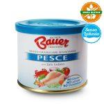 Brodo granulare istantaneo per pesce con sale iodato senza glutine 120g Bauer senza lattosio