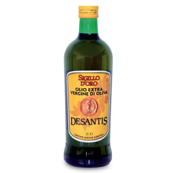 Olio extra vergine di oliva 1l Sigillo d'Oro Desantis