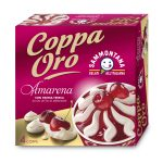Coppa Oro Amarena con panna fresca e meringhe 4 pezzi 360g Sammontana