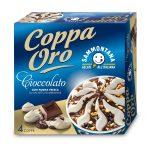 Coppa Oro Cioccolato con panna fresca e meringhe  4 pezzi 360g Sammontana