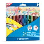 Matite colorare 24 pezzi Staedtler