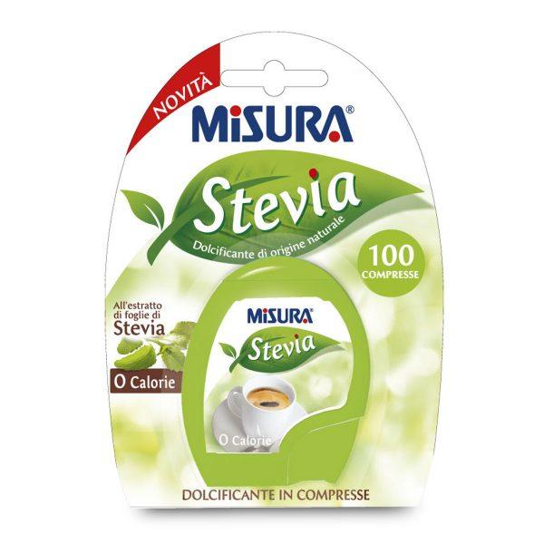 Dolcificante Stevia 100 compresse Misura