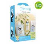 Confezione regalo Bimbi BIO I Provenzali: bagno copro e capelli, olio da massaggio, crema protettiva