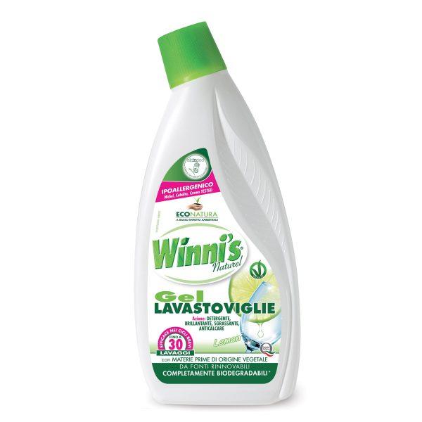 Gel lavastoviglie al limone 750ml Winn's