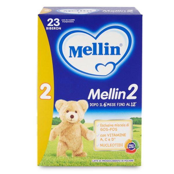 Latte Mellin 2 polvere 800g barattolo