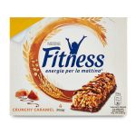 Barrette fitness crunchy caramel 4x23,5g Nestlè