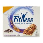 Barrette fitness cookies e cream 23,5gx4 Nestlè