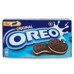 Biscotti snack al cacao oreo 176g Milka