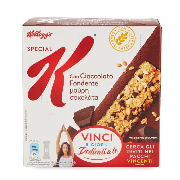 Kellogg's Special K barrette al cioccolato 6x21g