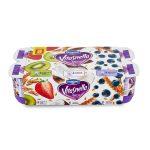 Yogurt Vitasnella magro Cocco/Fragola-Kiwi/Mirtilli con cereali 8x125g Danone