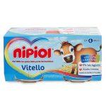 Omogeneizzato Nipiol 2x80g vitello