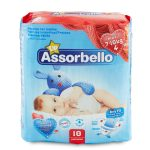 Pannolini dry fit maxi 7-18Kg 18 pezzi Assorbello Up