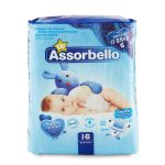 Pannolini dry fit junior 11-25Kg 16 pezzi Assorbello Up