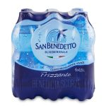 Acqua San Benedetto frizzante 6x50cl